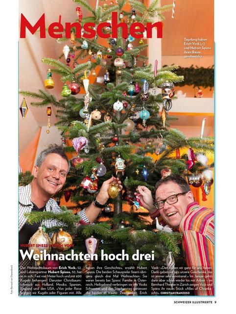 Erich Vock und Hubert Spiess, Schweizer Illustrierte Dez. 14