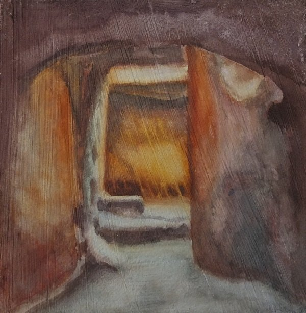 Into the Tomb by Alison Gracie