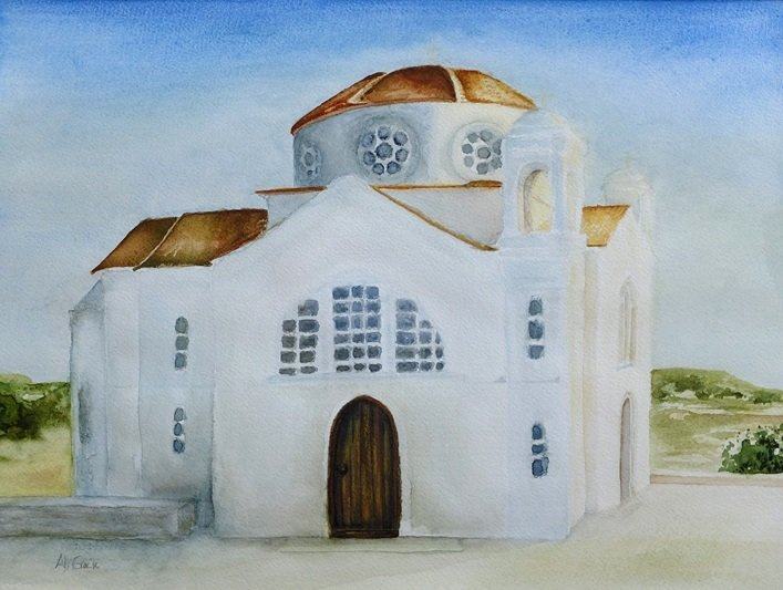 Church near St Georges by Alison Gracie