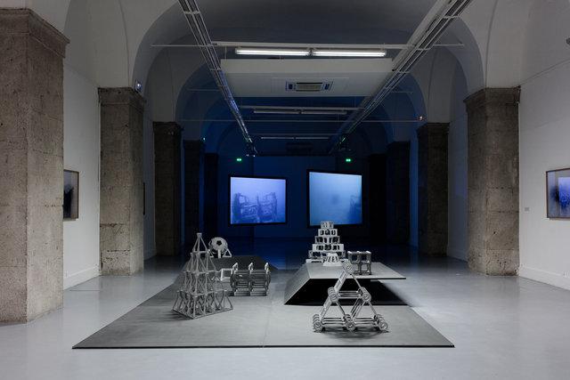 Vue d'exposition, Galerie des ponchettes, Nice, 2014
