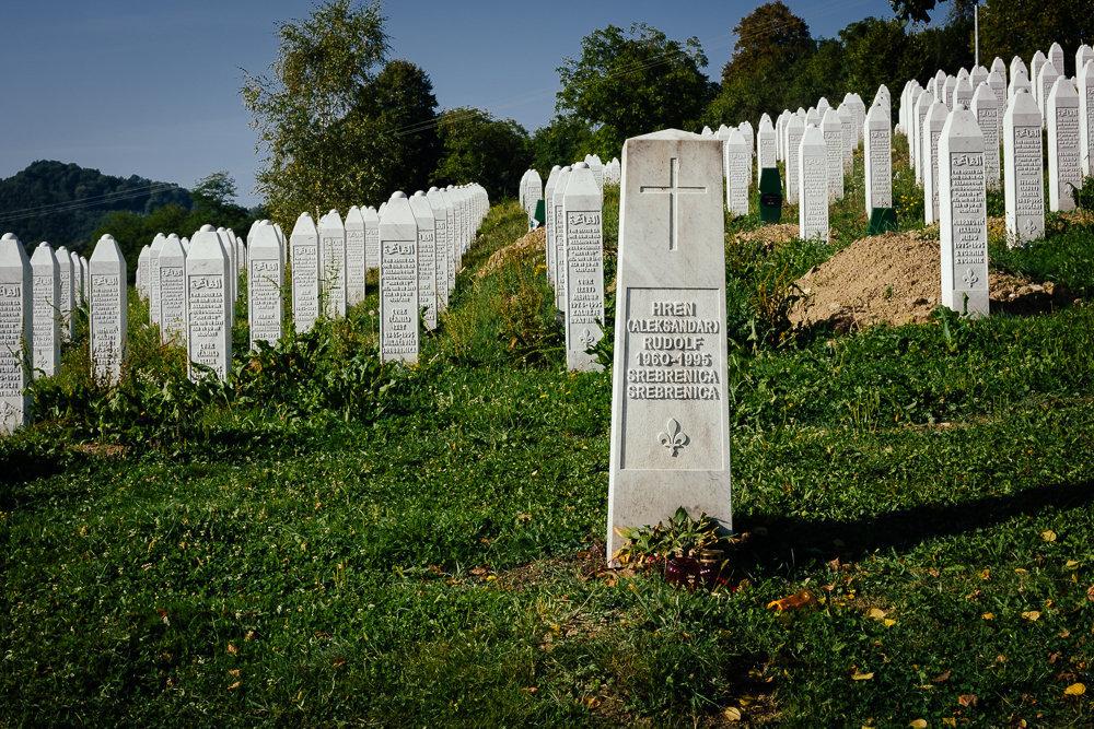 Potocari memorial. Day 3