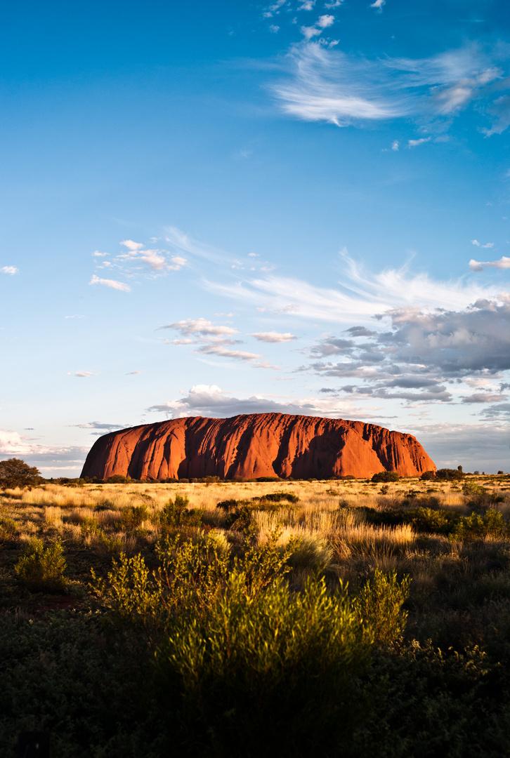 Ayers Rock, Australia. 2012.