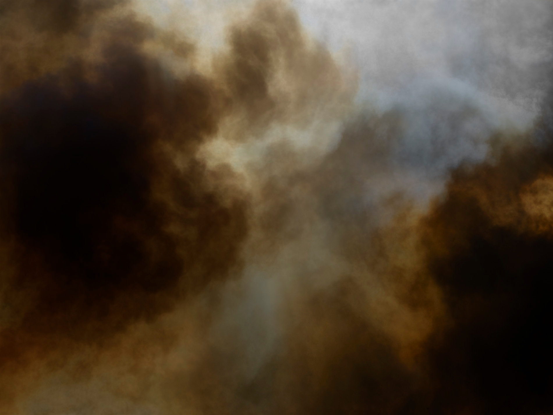 Smoke fire color abstract fine art photography