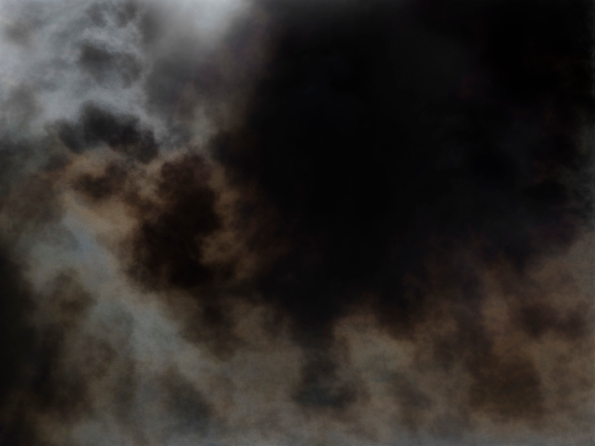 Fire black smoke color abstract fine art photography print