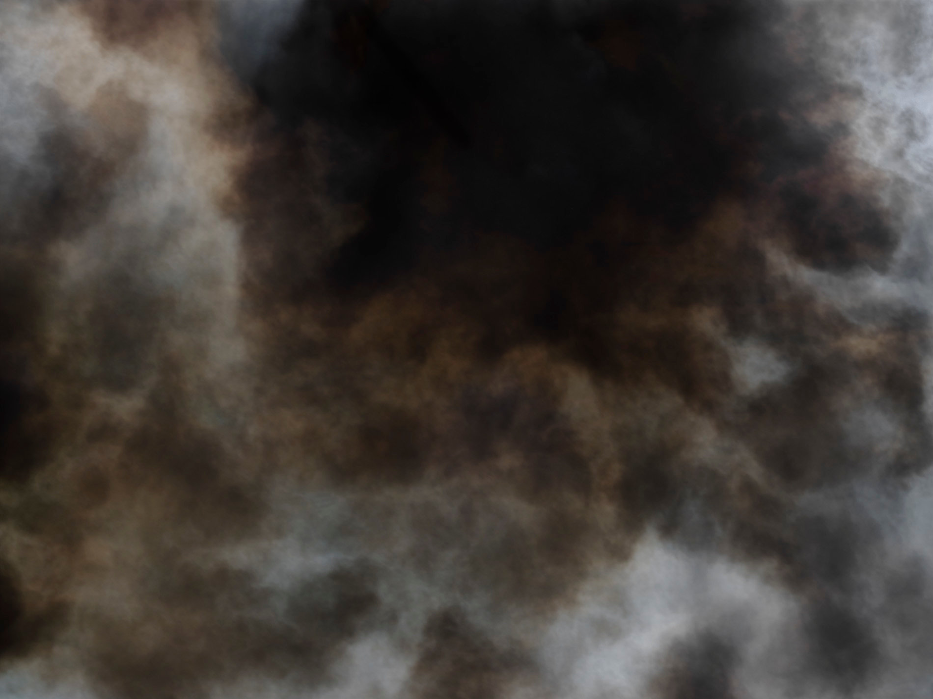 Abstract smoke from a fire