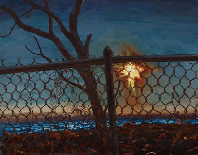 "Sunset        38 x 44"""
