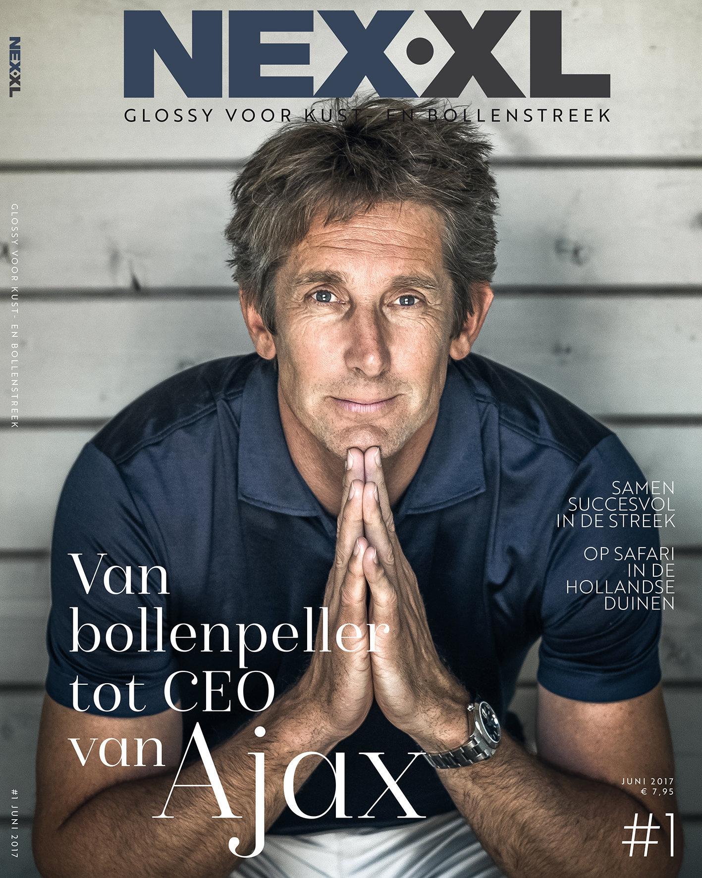 cover NEX XL Edwin van der Sar