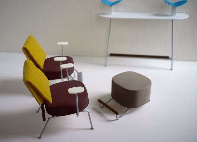 Study for Lounge Seating.