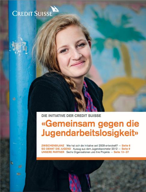 CS Sonderbeilage gegen Jugendarbeitslosigkeit 2012