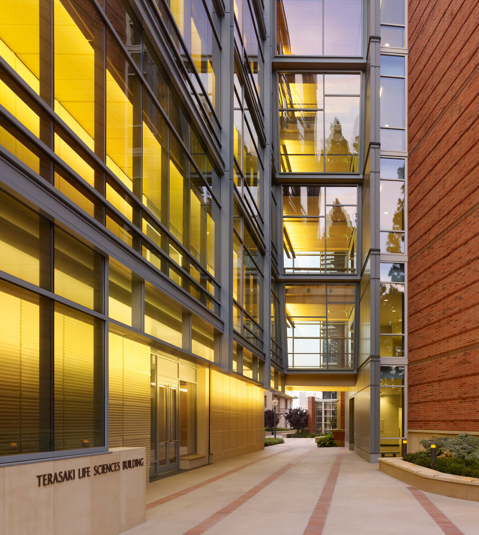 UCLA Life Science Research Building at Dusk by BCJ