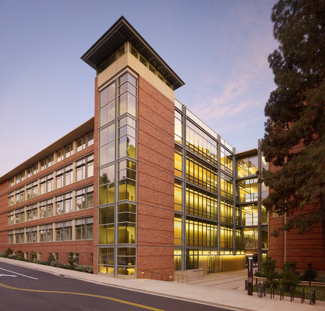 UCLA Life Science Research Building at Dusk