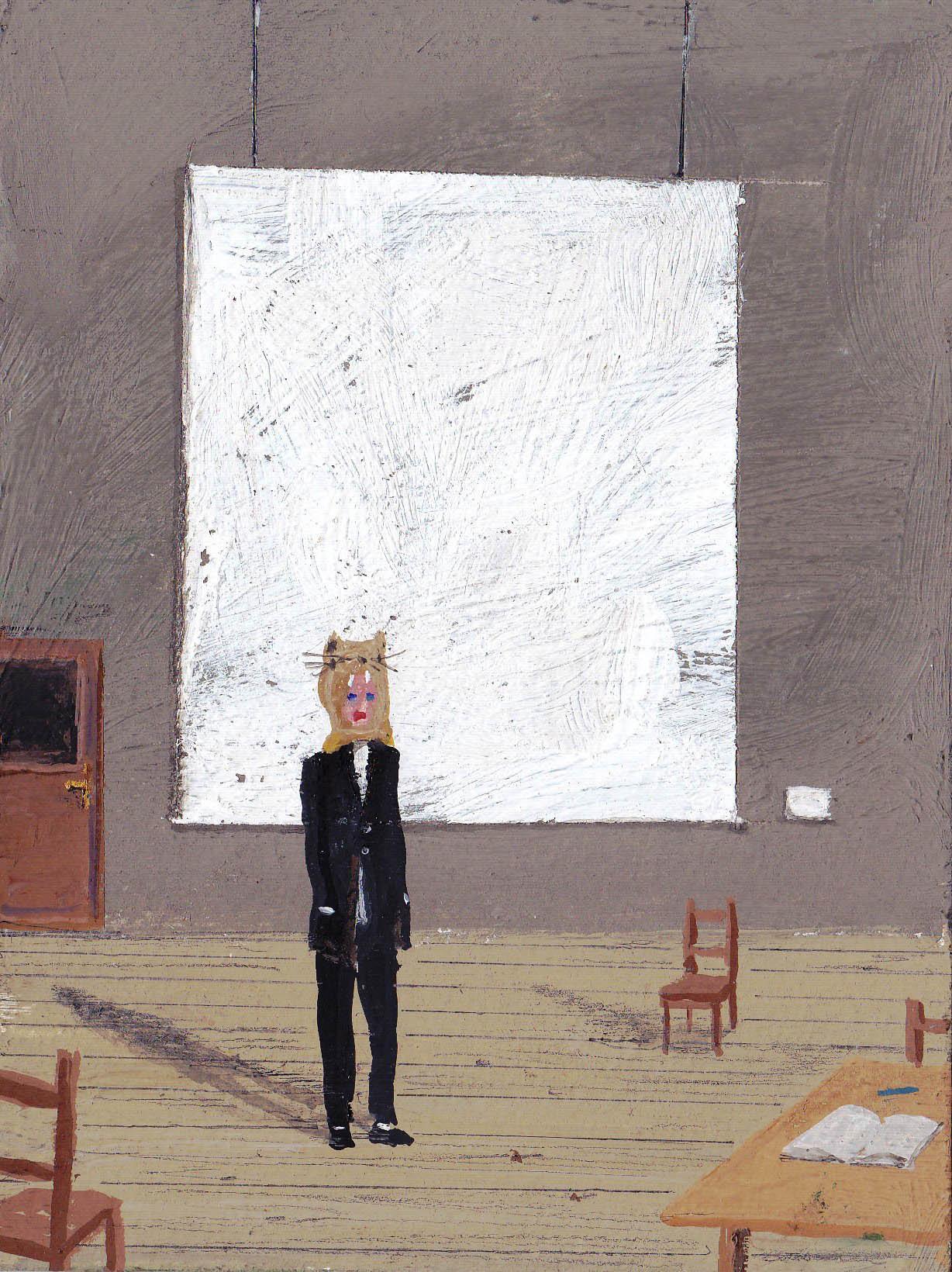 Paul Nassenstein, The artist in his studio, 2016