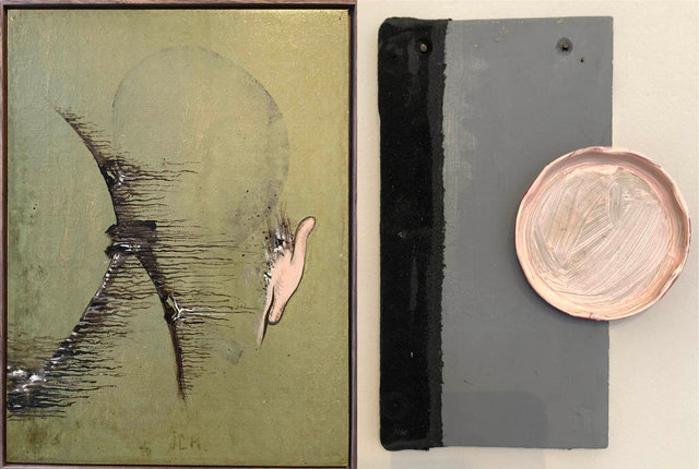 L: Charles Vreuls, Untitled / R. Roland Berning, Untitled