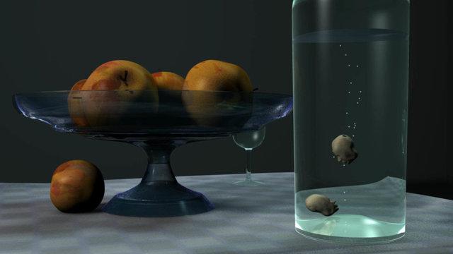 Jef Nassenstein, Still life with apples, 2012