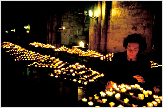 Catedral de Notre Dame de París, París, 2000