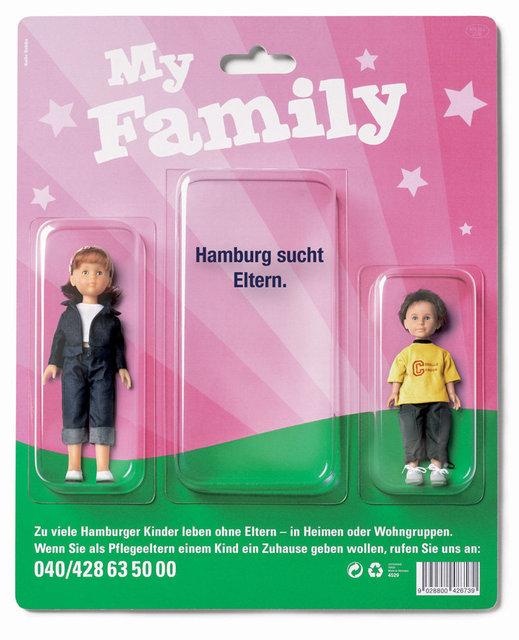 Behörde für Soziales u. Familie / Anzeige
