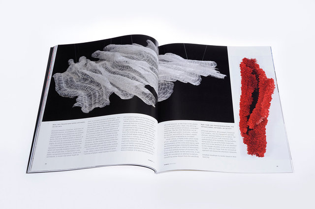 Sculpture magazine, fifth_sixth page