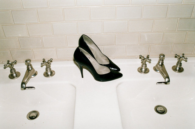 Ginas, in the bathroom.jpg