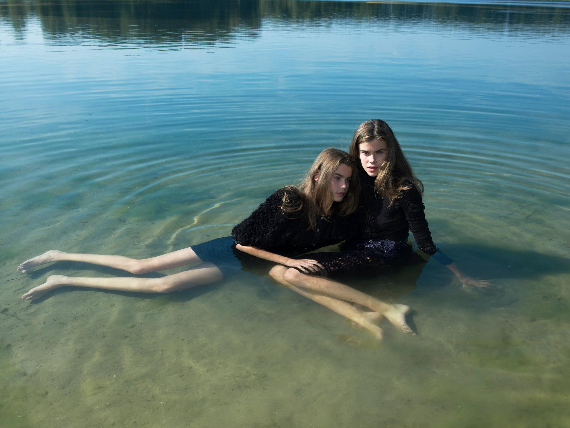 Please sit down-twins