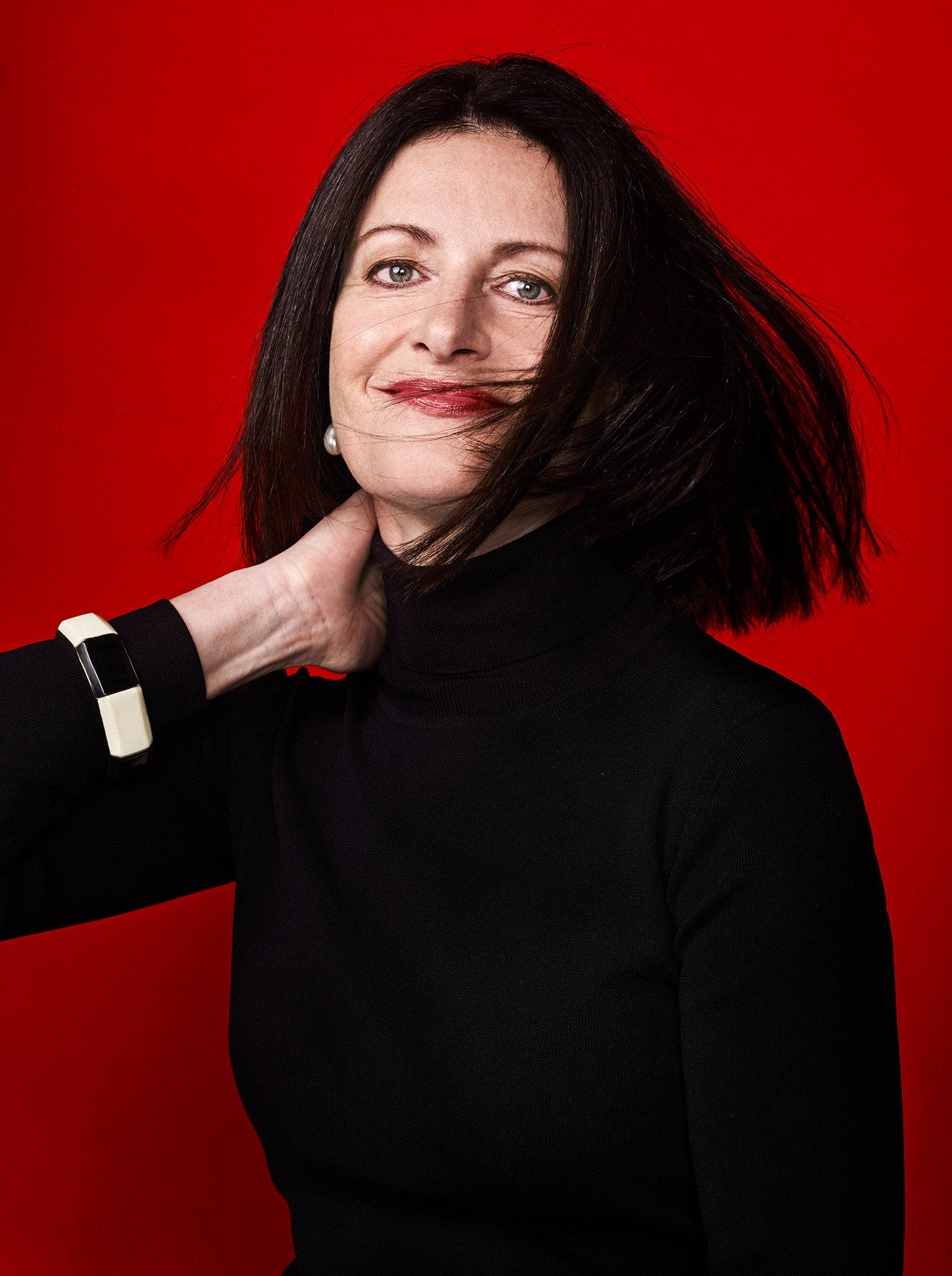 Olga Zoutendijk (ABNAMRO) for Harpers Bazaar NL