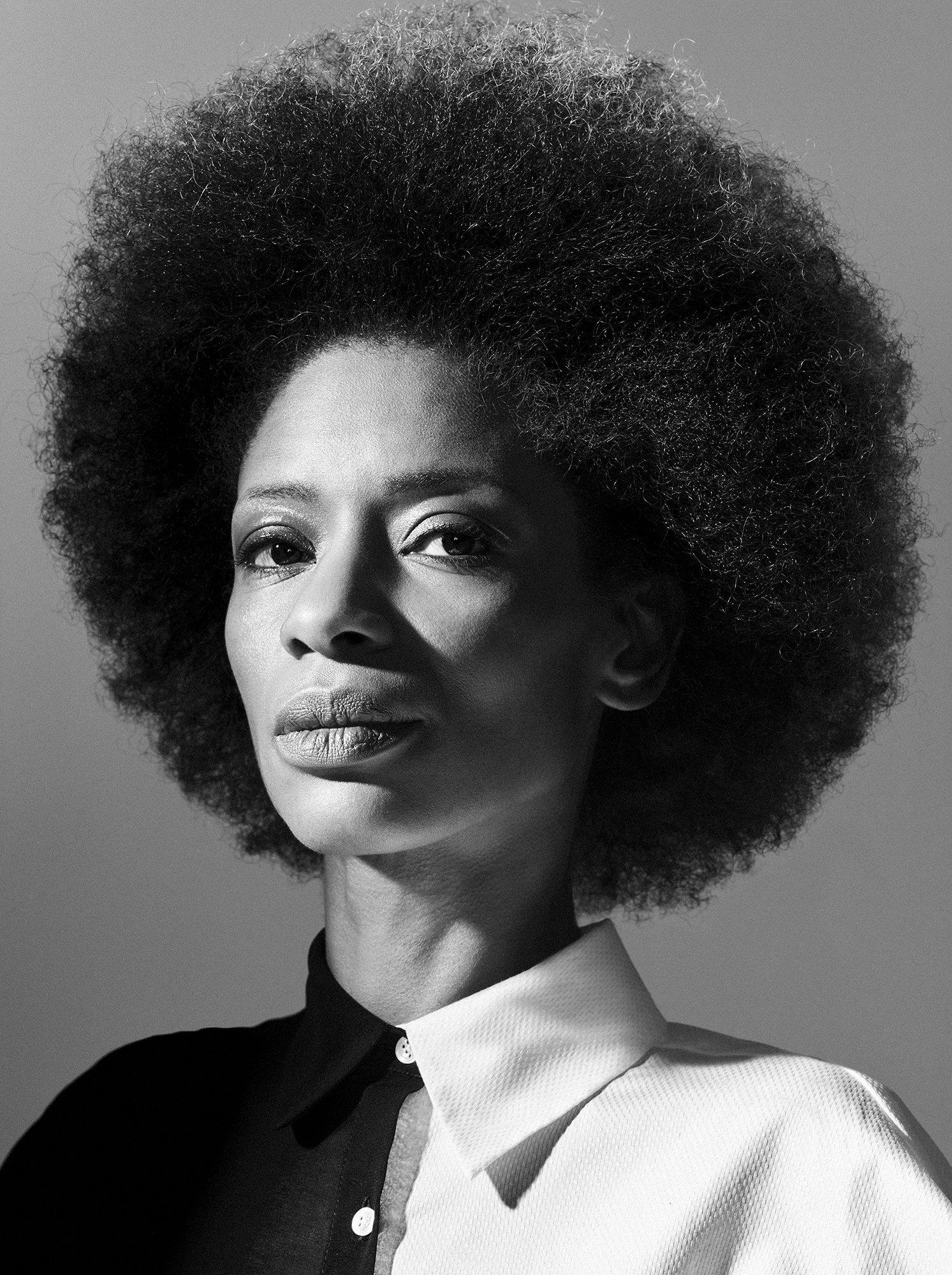 Sylvana Simons for Harpers Bazaar NL