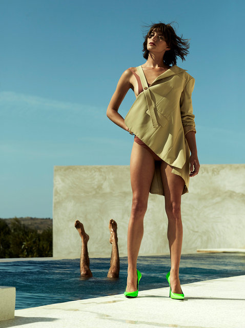 Bigger Splash for Harpers Bazaar NL