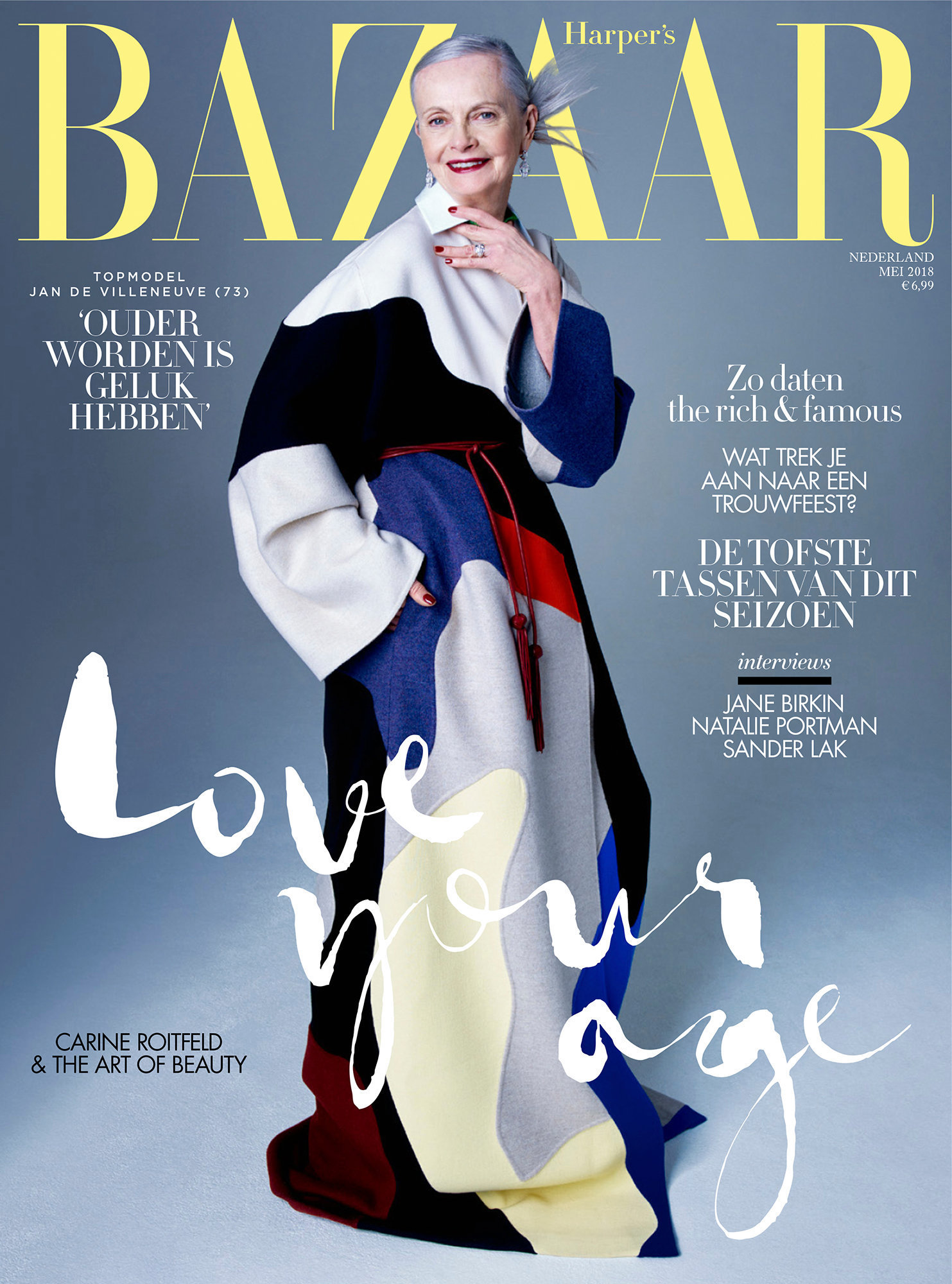 COVERSTORY Harpers Bazaar Netherlands  May 2018