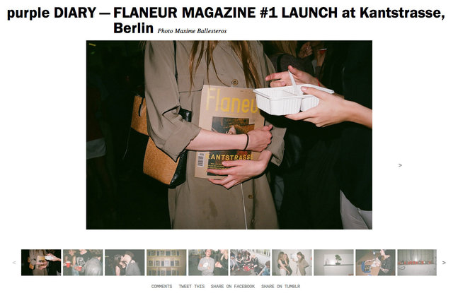 purple DIARY   FLANEUR MAGAZINE  1 LAUNCH at Kantstrasse  Berlin.jpg