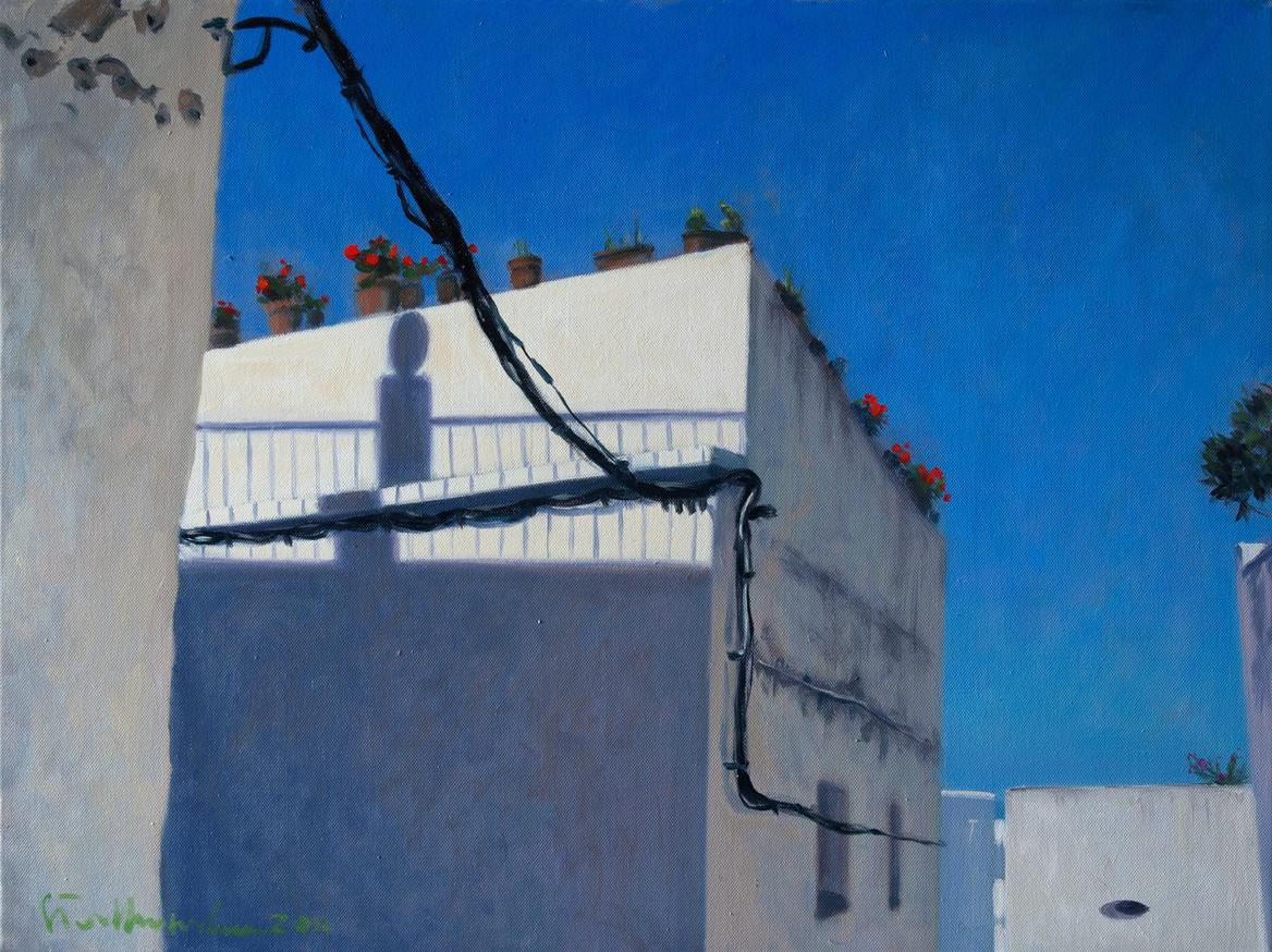 Blue, 73x54 olej płotno 2011