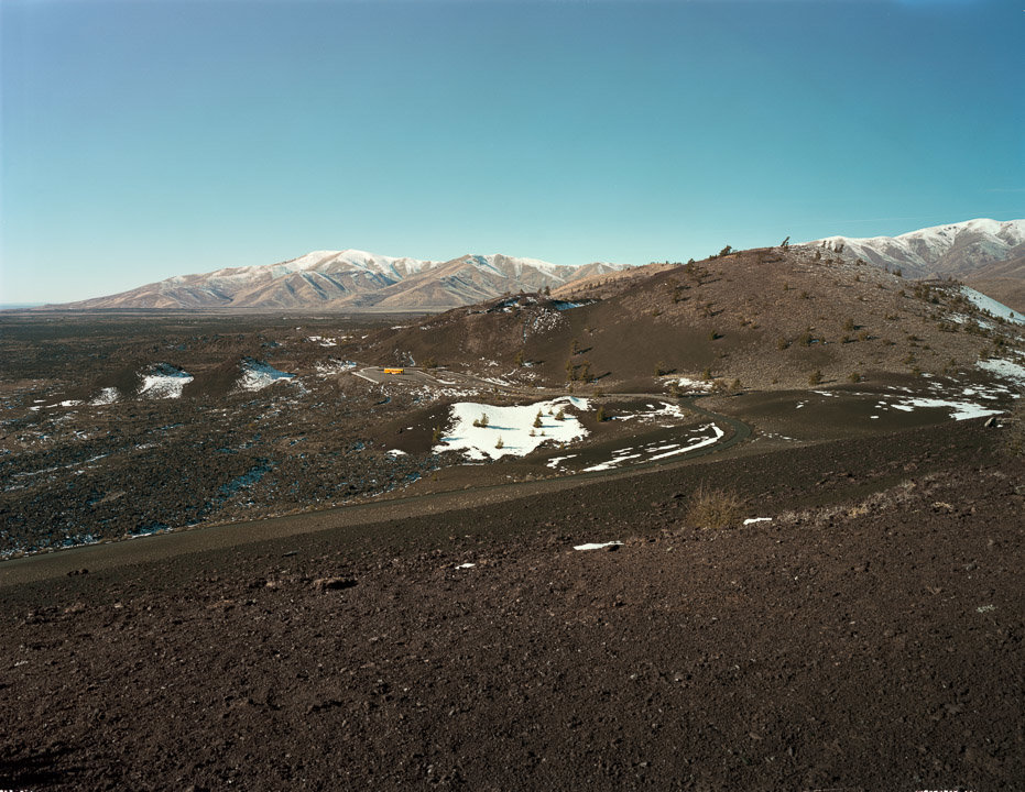 View from Inferno Cone, Craters of the Moon National Monument and Preserve, Arco, ID, 2015