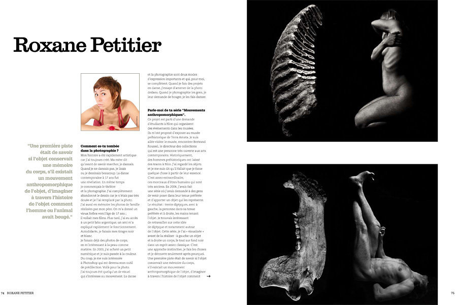 Portfolio dans Photographe, Regards sur le nu, 2011