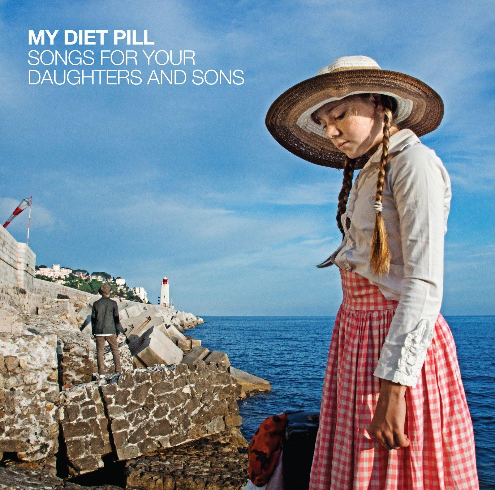 Visuel pour la pochette album CD/Vinyle My Diet Pill + livret photo à l'intérieur