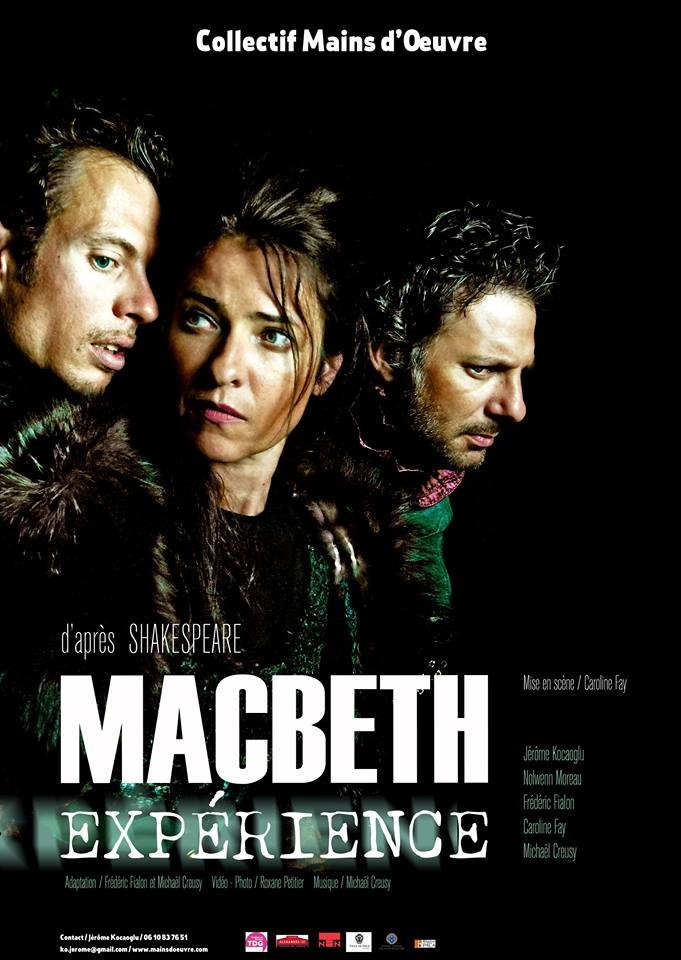 Photo et création vidéo pour théâtre - Macbeth 2014