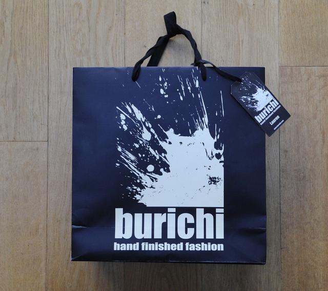 Logo for burichi hand finished fashion