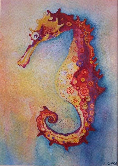 Silvio Seahorse by Alison Gracie