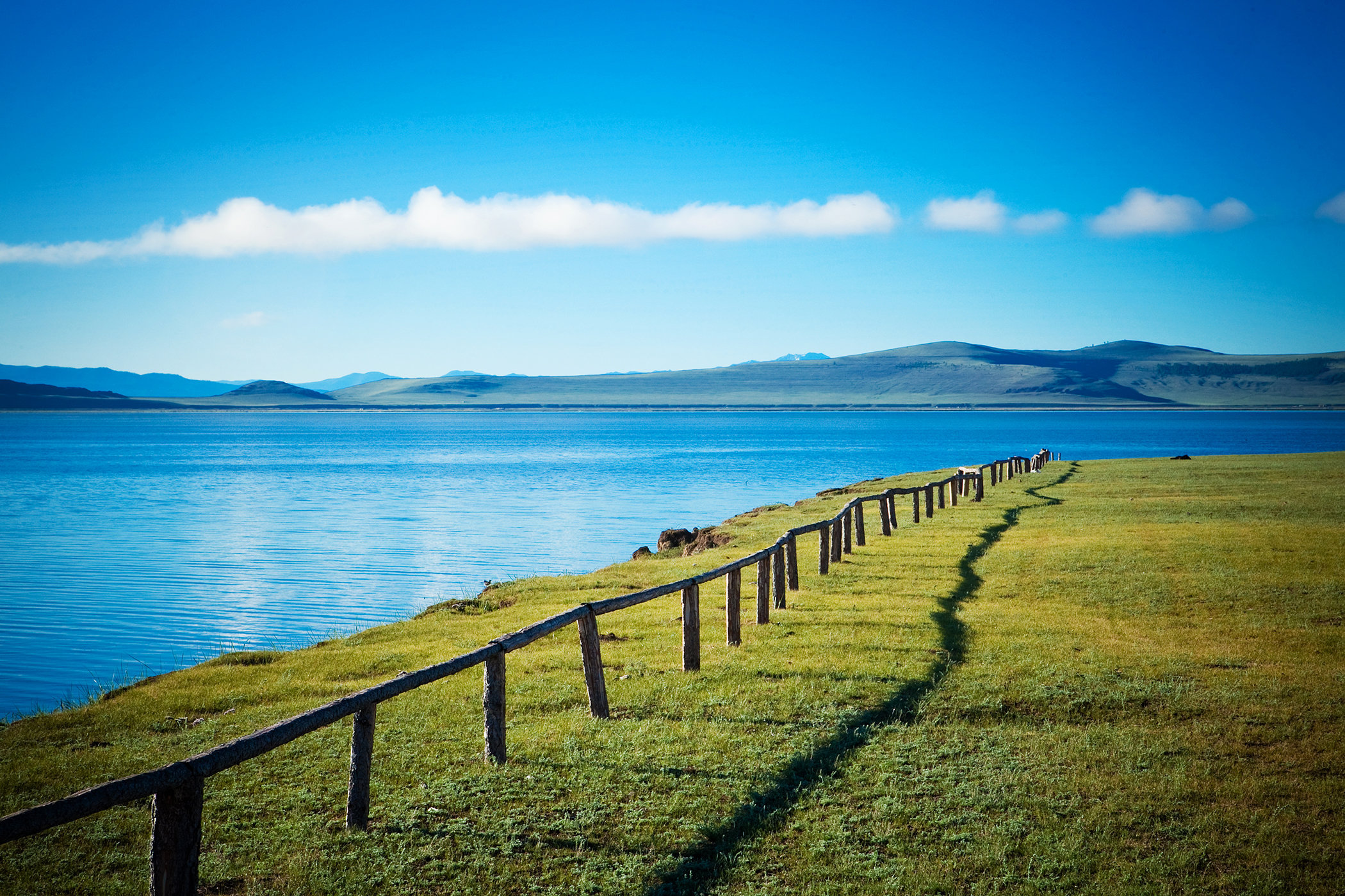 Lake in Mongolia