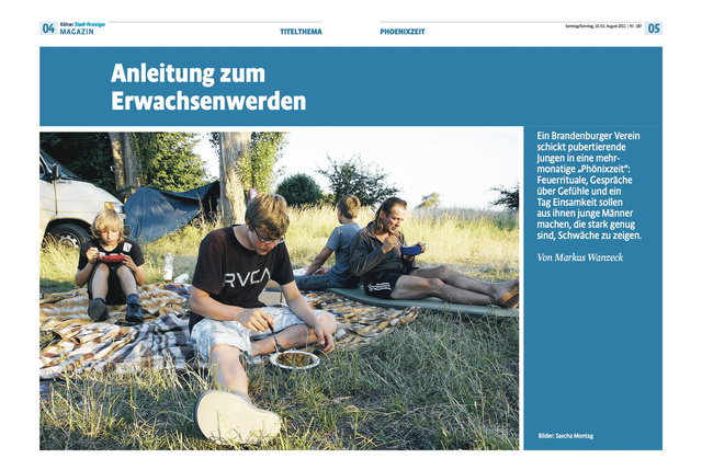 Kölner Stadtanzeiger Magazin 13.08.2011