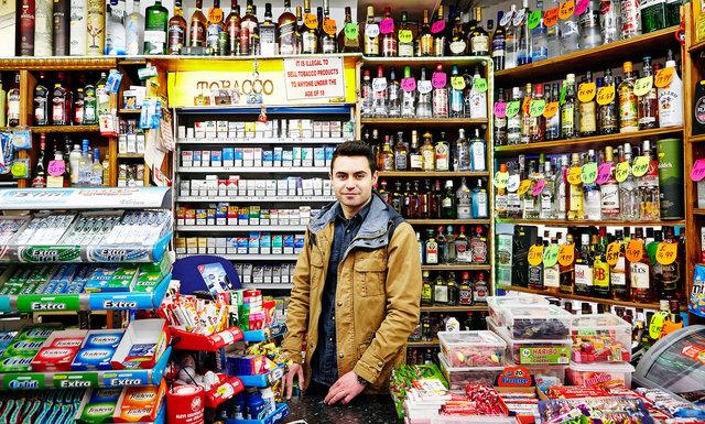 Serg, Meral's Food Express. Cricklewood Lane