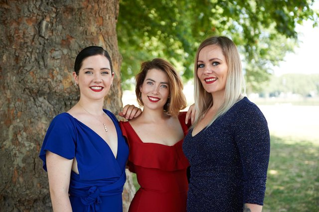 Bryony Purdue, Olivia Lewis and Katrin Yr