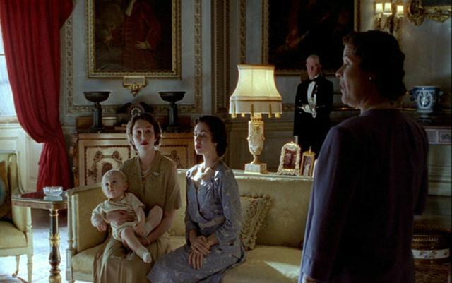 Buckingham Palace Interior - 1943