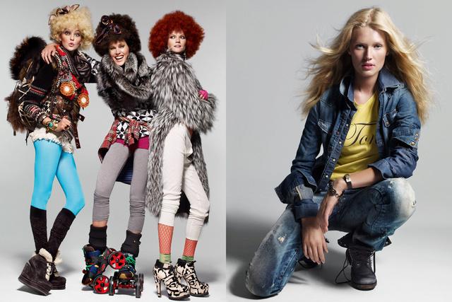 Vogue Spain. Anne Vyalitsyna, Toni Garrn, Kasia Struss, Iselin Steiro and Caroline Trentini. Otono C