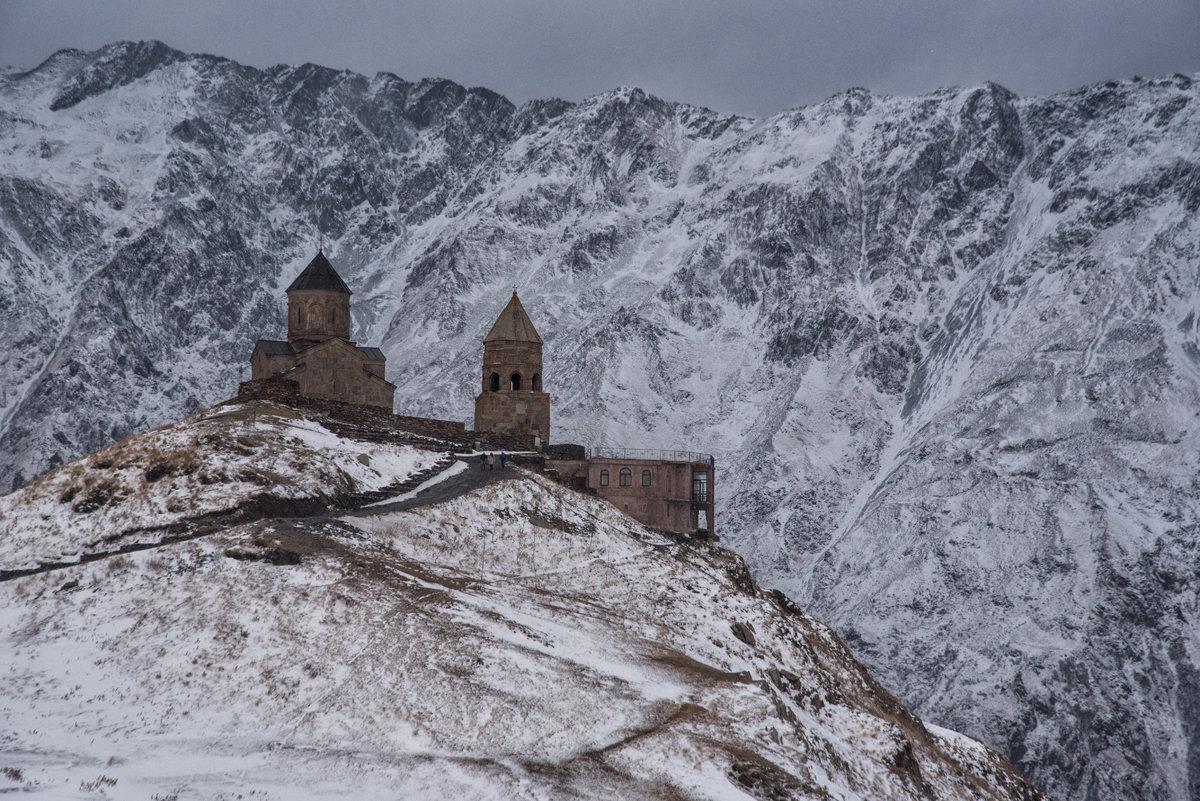 Gergeti - Kloster