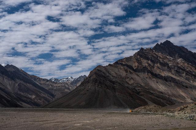 Im Himalaya, in der Nähe von Rangdum.
