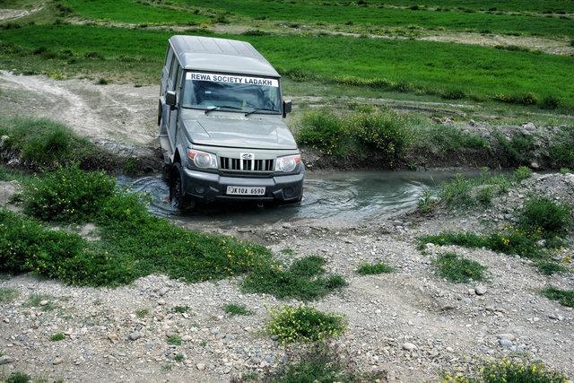 In Zanskar kommt man am besten mit dem Jeep voran.