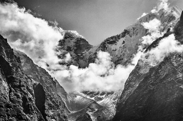 Khumbu Tal, Himalaya-Nepal, 2011