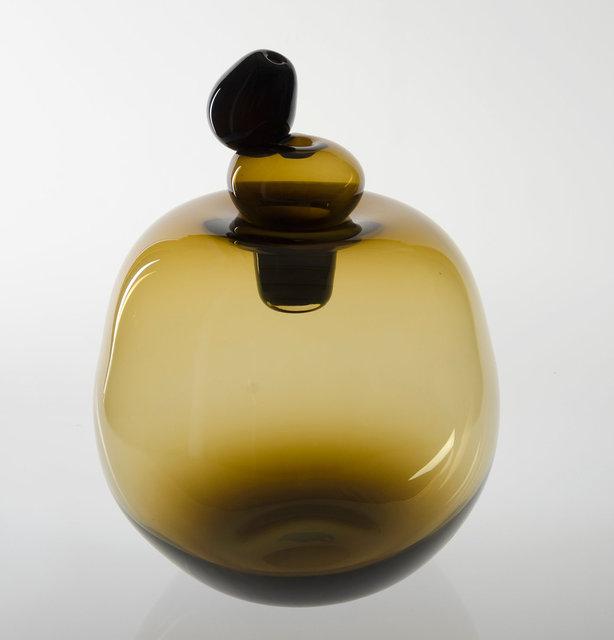 Big Brown Shiny Vase
