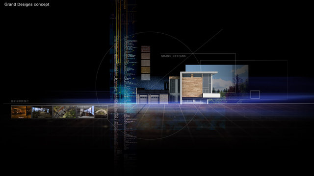 Grand Designs graphic sequence concept