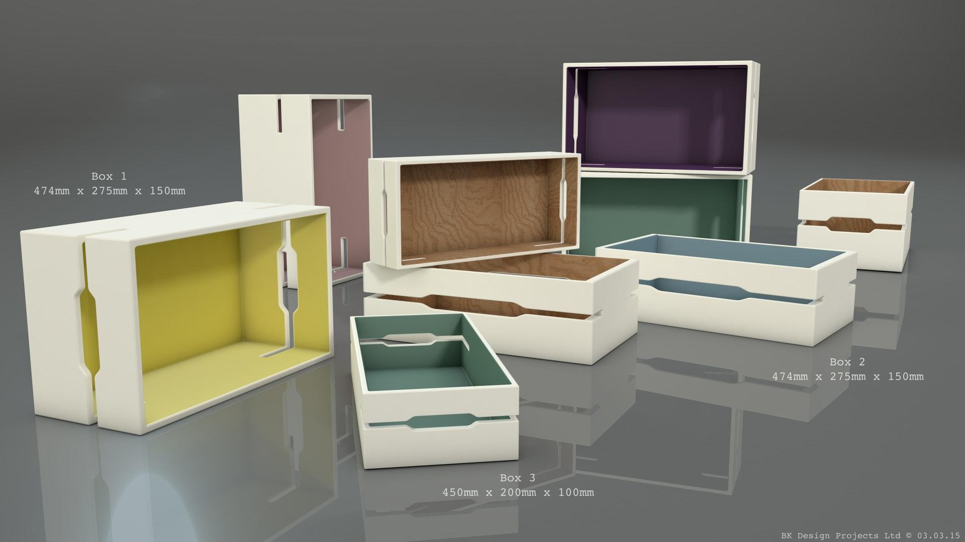 The Box BBC1 - Box Design Concept