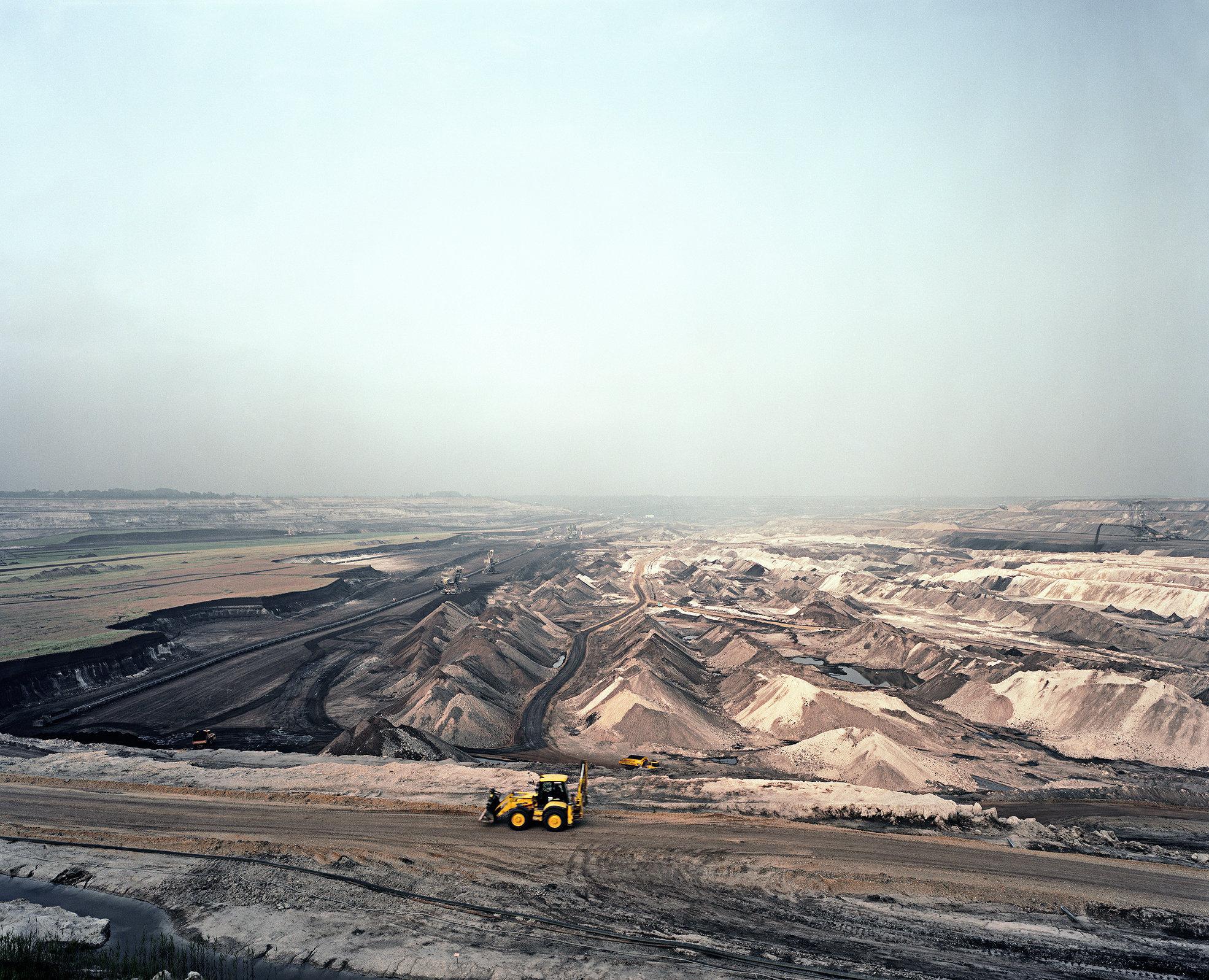 Mibrag Lignite Mining, East Germany