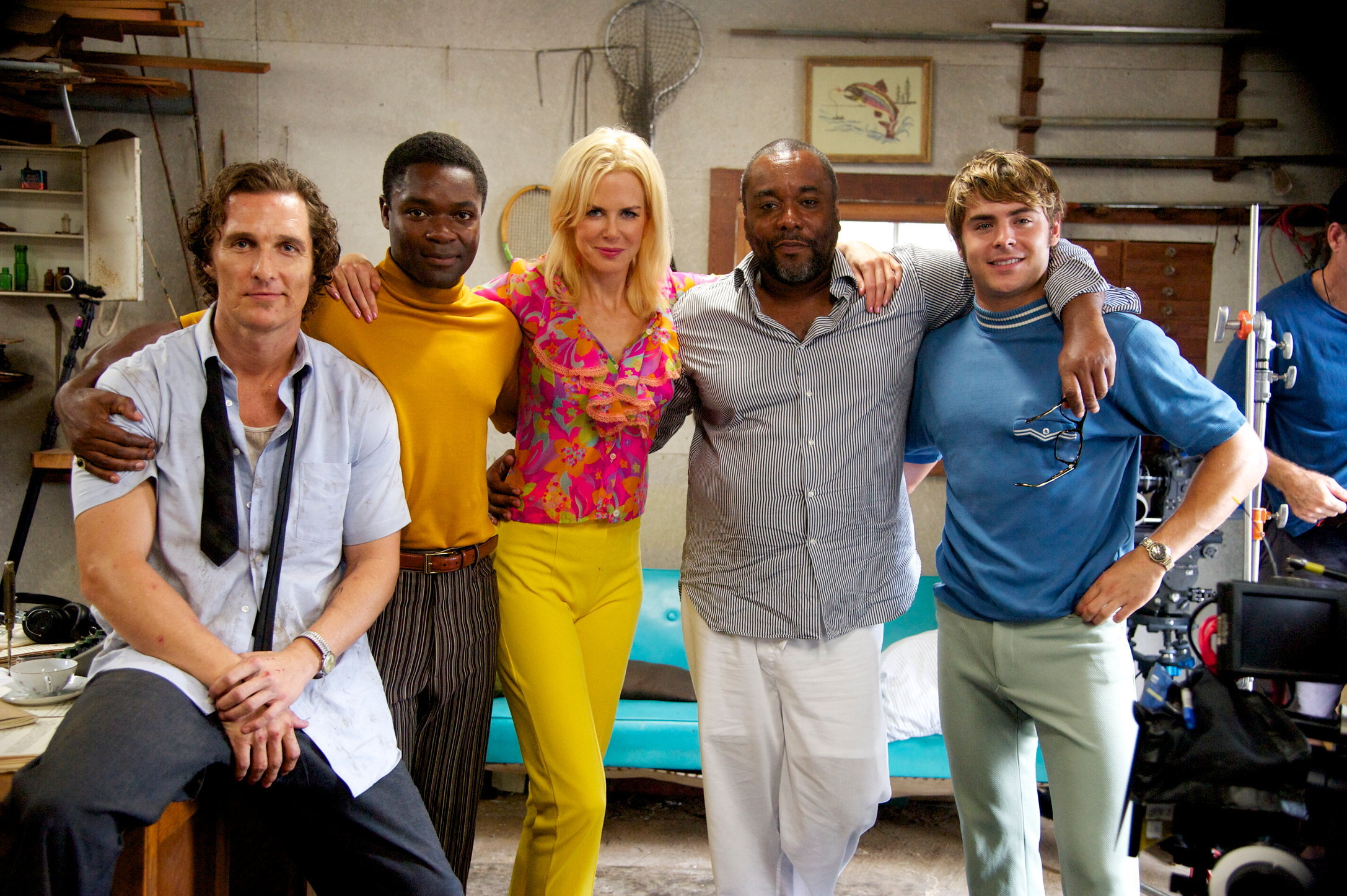 Matthew McConaughey, David Oyelowo, Nicole Kidman, Director Lee Daniels & Zac Efron - THE PAPERBOY